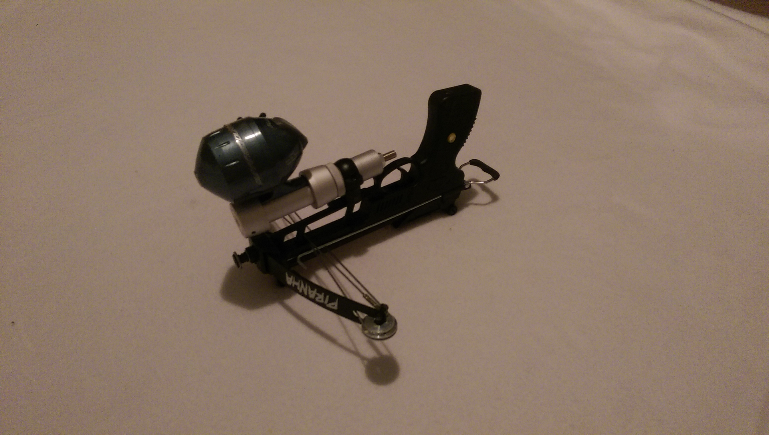 William tell archery supplies wt piranha multifunctional for Mini crossbow fishing