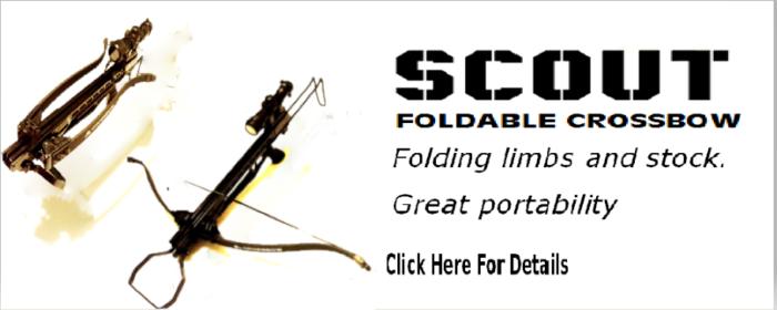 Scout survival crossbow