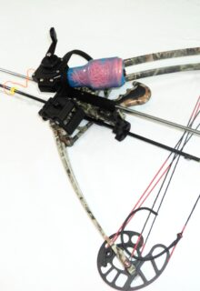 Delta bow with fishing set up