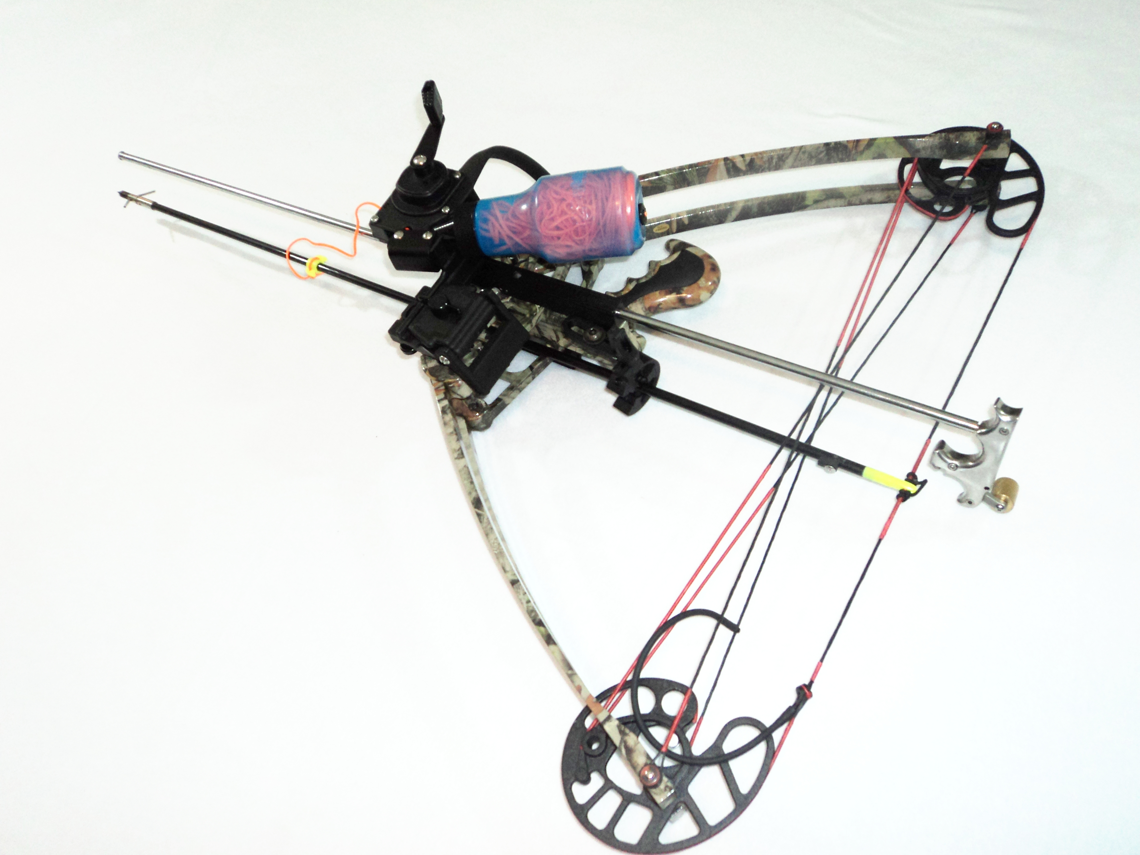 William tell archery supplies delta bow vertical crossbow for Crossbow fishing kit