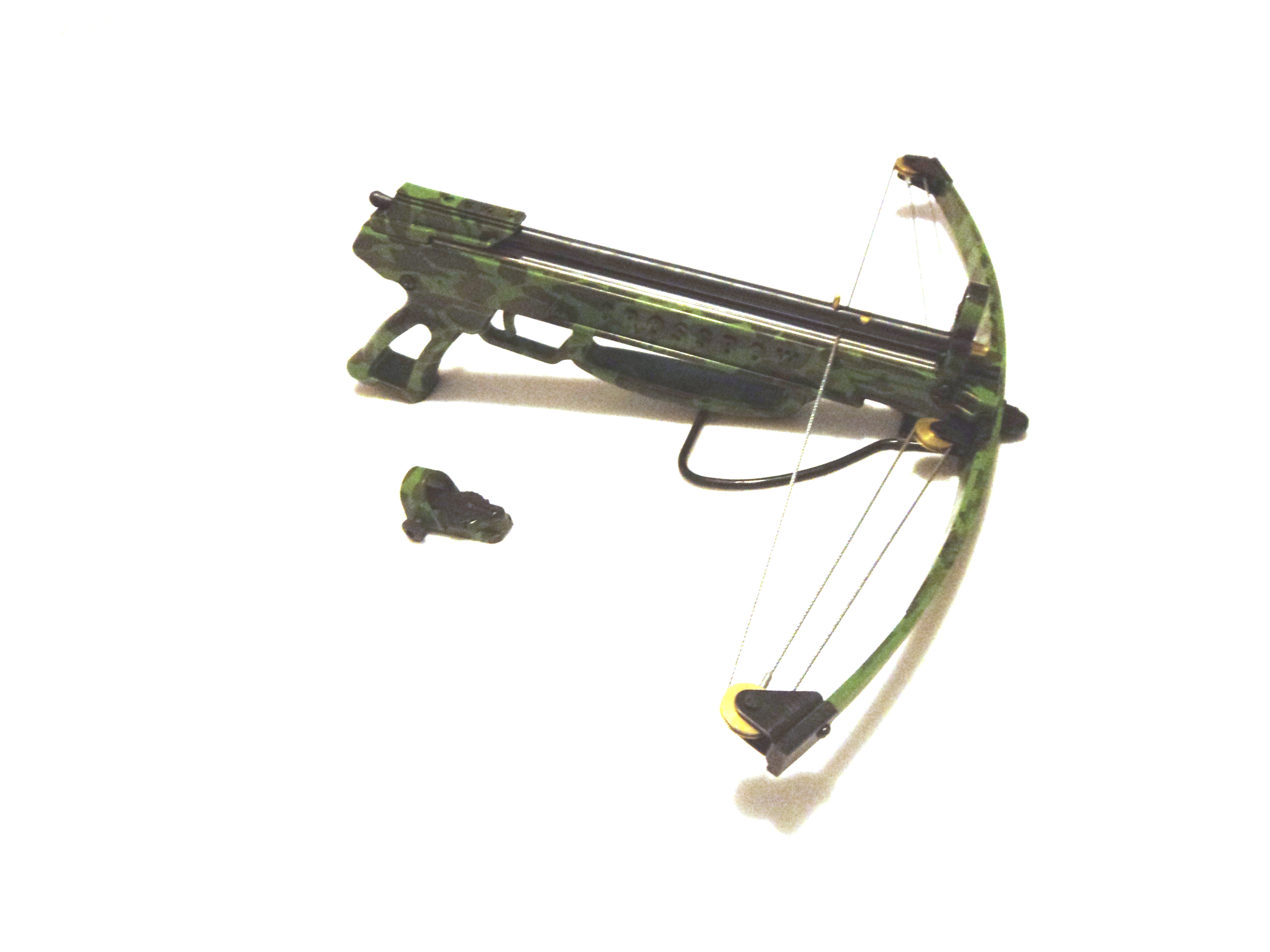 William tell archery supplies 80 lbs commando for Fishing crossbow pistol