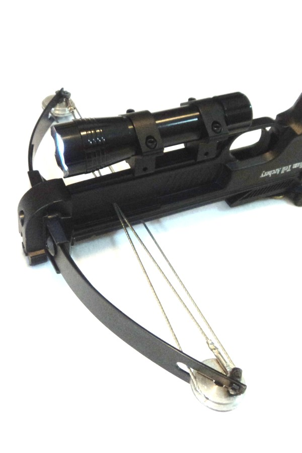 WT-MANTIS II DUAL CANNON-BOLT PISTOL CROSSBOW WITH TACTICAL LIGHT